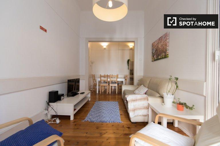 Santo António, Lizbon'da kiralık 3 yatak odalı daire