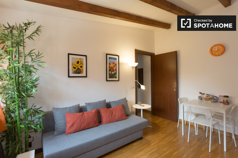 Stylish 1-bedroom apartment for rent in Zara, Milan