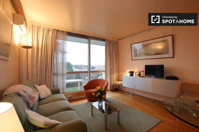 1-Zimmer-Wohnung zur Miete in Ixelles, Brüssel