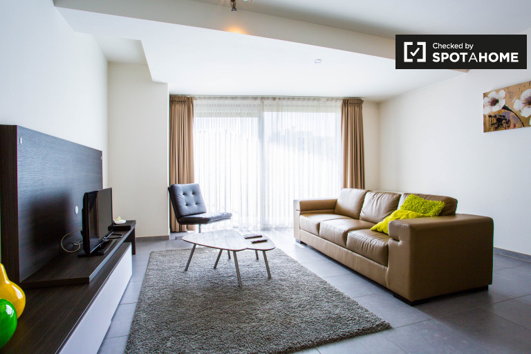 Stylish 1-bedroom apartment for rent in Brussels City Center