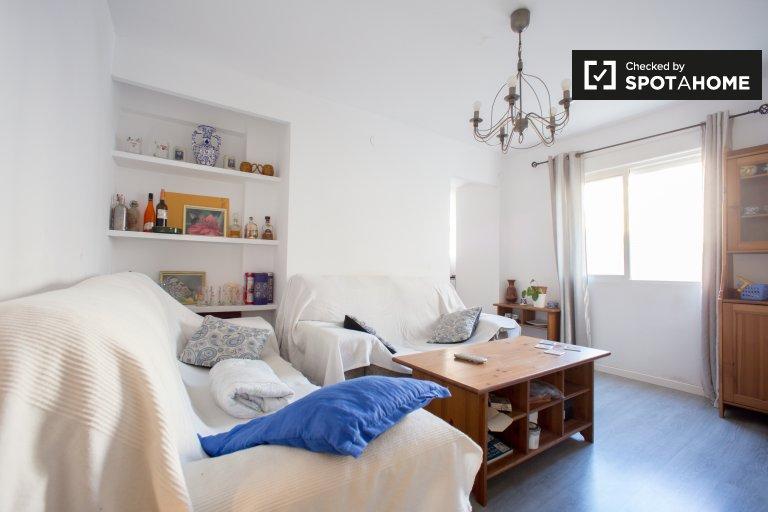 Room for rent in 3-bedroom flat in Camins al Grau, Valencia