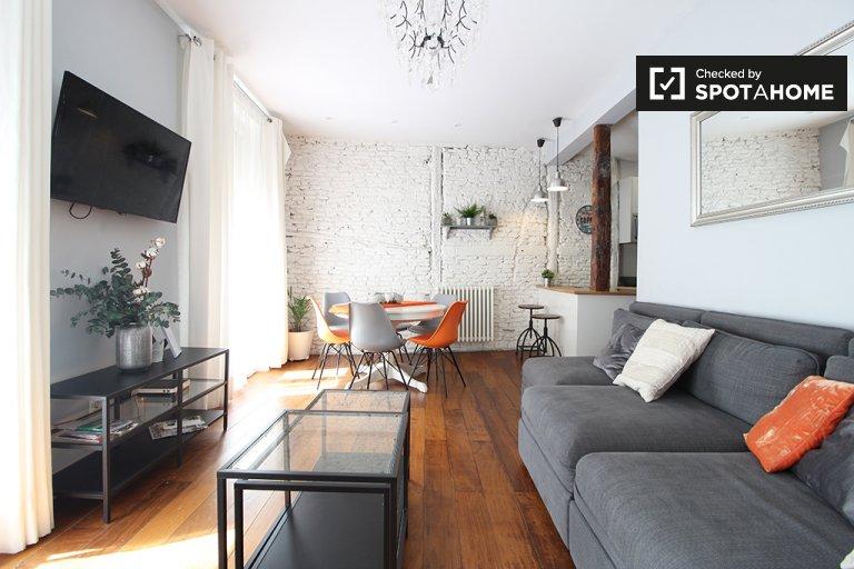 Chic apartamento de 4 quartos para alugar em Malasaña, Madrid