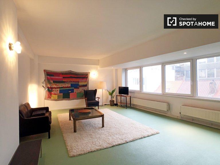 Geräumige 1-Zimmer-Wohnung zur Miete im Zentrum von Brüssel