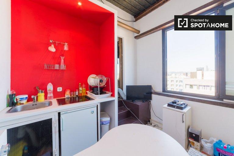 Partment z 1 sypialnią do wynajęcia w Poblenou w Barcelonie
