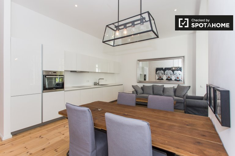 Trendy apartment with 1 bedroom to rent in Friedrichshain