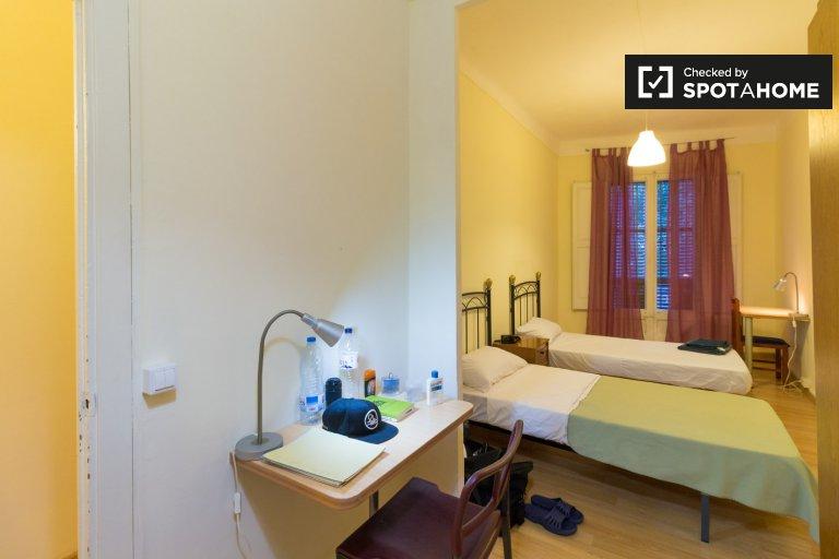Bett zu vermieten, 5-Zimmer-Wohnung in L'Esquerra de l'Eixample