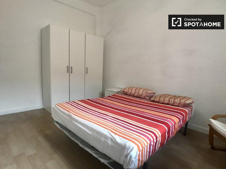 Chambre à louer dans un appartement de 4 chambres à Guindalera, Madrid