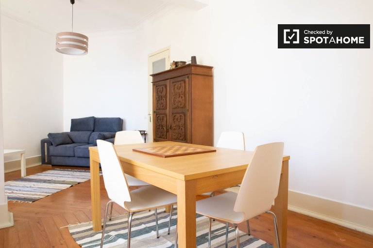 3-bedroom apartment for rent in Graça e São Vicente, Lisbon