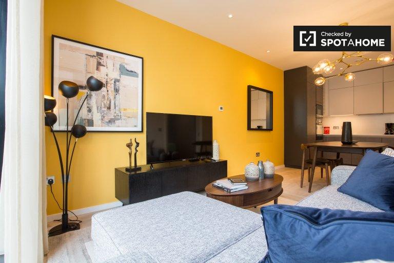 1 yatak odalı daire kiralık Grand Canal Dock, Dublin