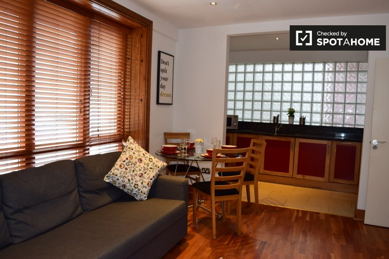 Cosy 1-bedroom apartment to rent in central Dublin