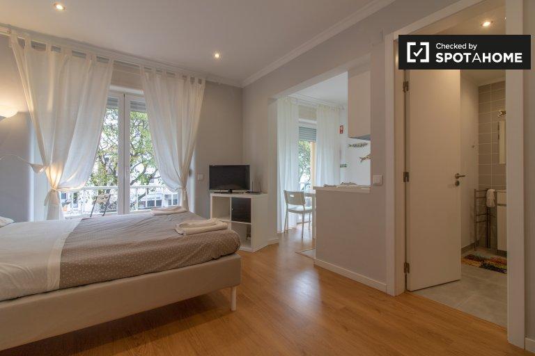 Elegante apartamento de estúdio para alugar em Saldanha, Lisboa