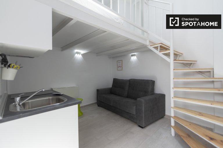 Appartamento monolocale in affitto a Usera, Madrid