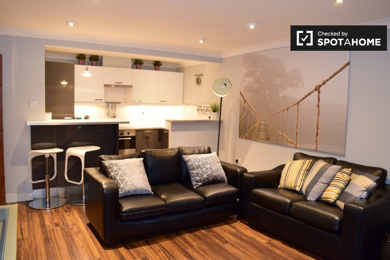 Modern 2-bedroom apartment to rent in Dublin 2