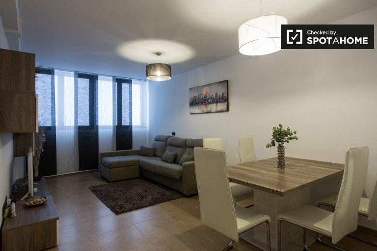 Poblenou'da, Barcelona kiralık 2 odalı daire