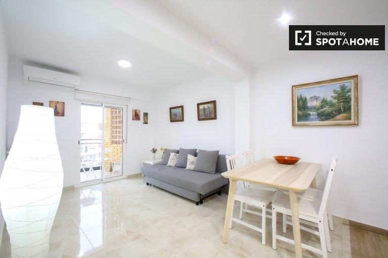 Nowoczesne 3-pokojowe mieszkanie do wynajęcia w La Saïdia, Valencia