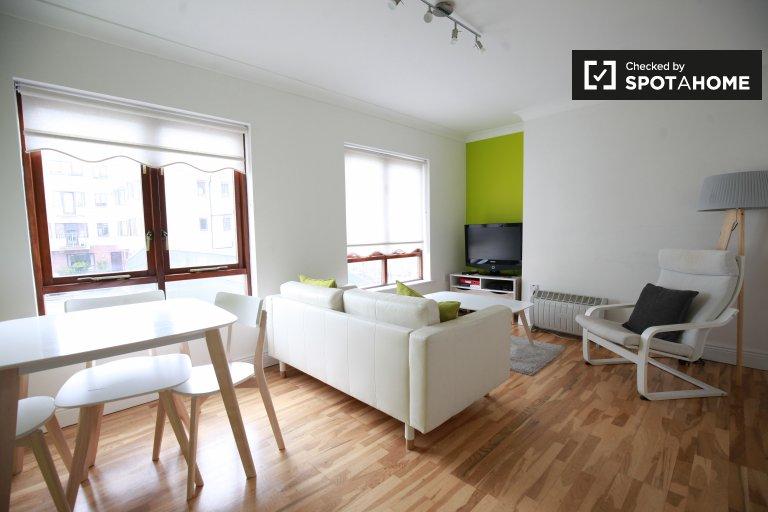 Appartement coloré de 2 chambres à louer à Ballsbridge, Dublin