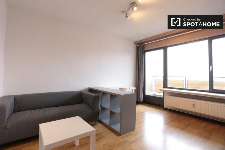 Studio apartment for rent in Saint Josse, Brussels