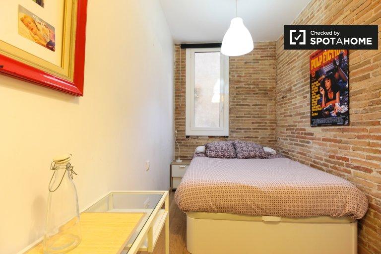 Doppelzimmer zu vermieten, 3-Zimmer-Wohnung, El Raval, Barcelona