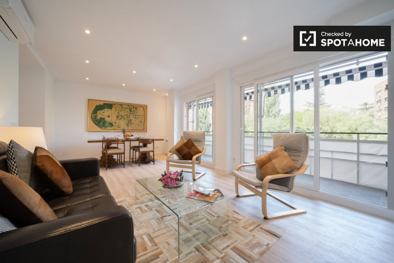 3-bedroom apartment for rent in Chamartín, Madrid