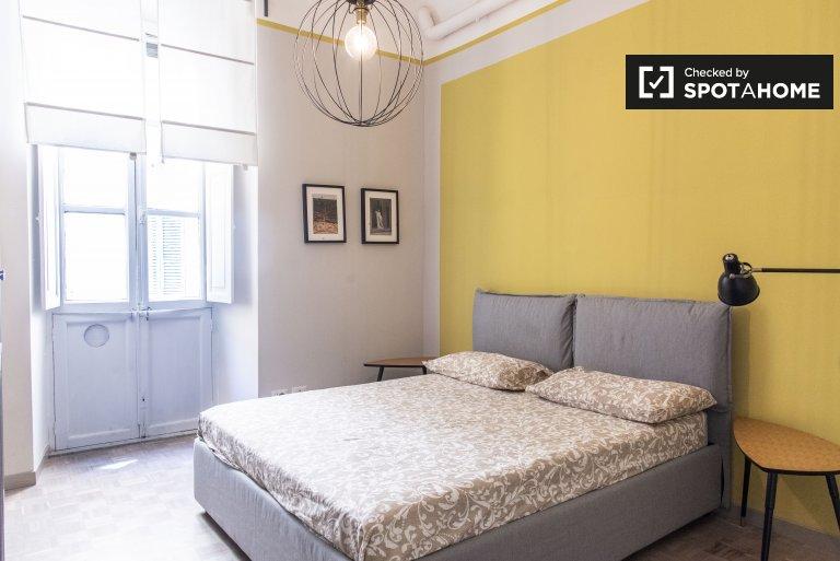 Sıtma, Roma'da 4 yatak odalı dairede kiralık oda