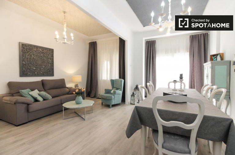 Apartamento de 3 quartos elegante para alugar em Les Corts, Barcelona