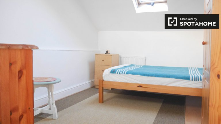 Accogliente camera in affitto in appartamento con 2 camere da letto a Lambeth, Londra