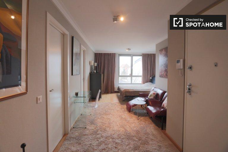 Terrific studio apartment for rent in Auderghem, Brussels