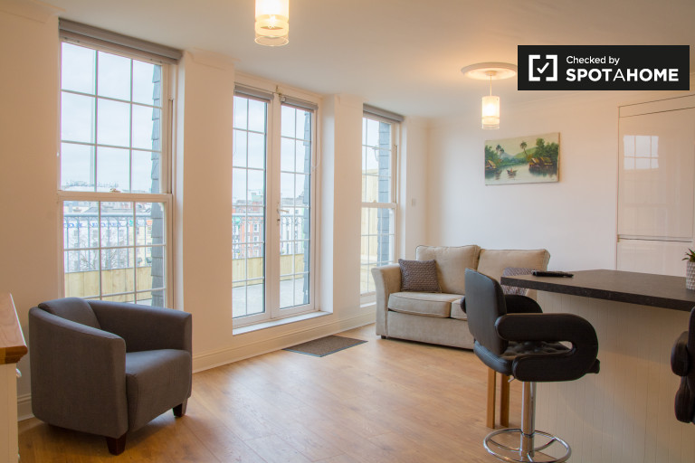 Gorgeous 1-bedroom apartment to rent in central Temple Bar, Dublin