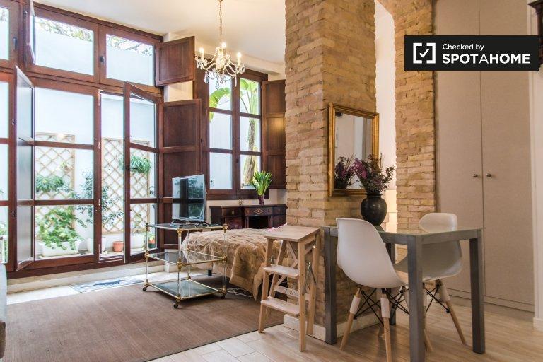 Apartamento estúdio para alugar em El Cabanyal, Valência