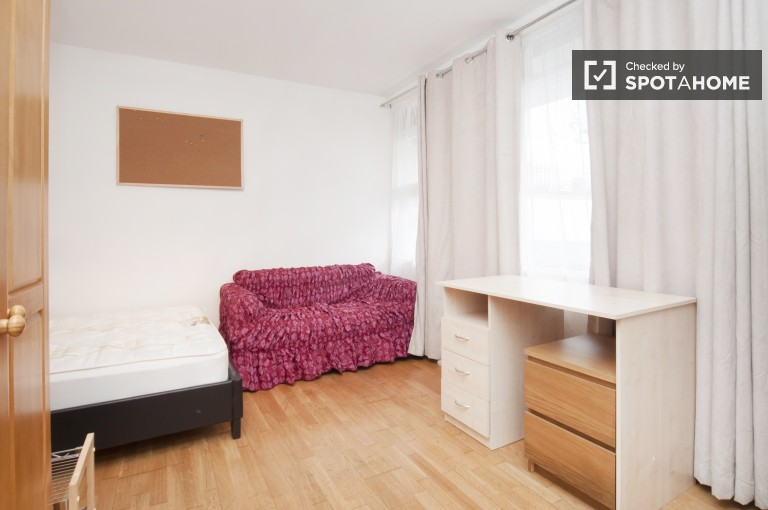 Bedroom 3 with Double Bed and Balcony