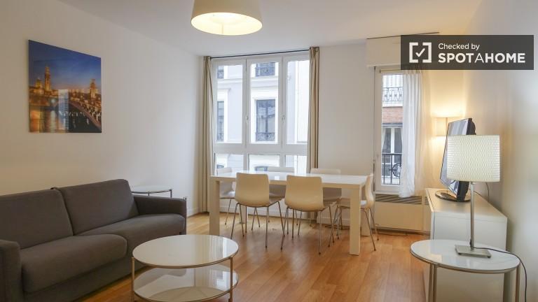 2-pokojowe mieszkanie do wynajęcia w 17. dzielnicy Paryża
