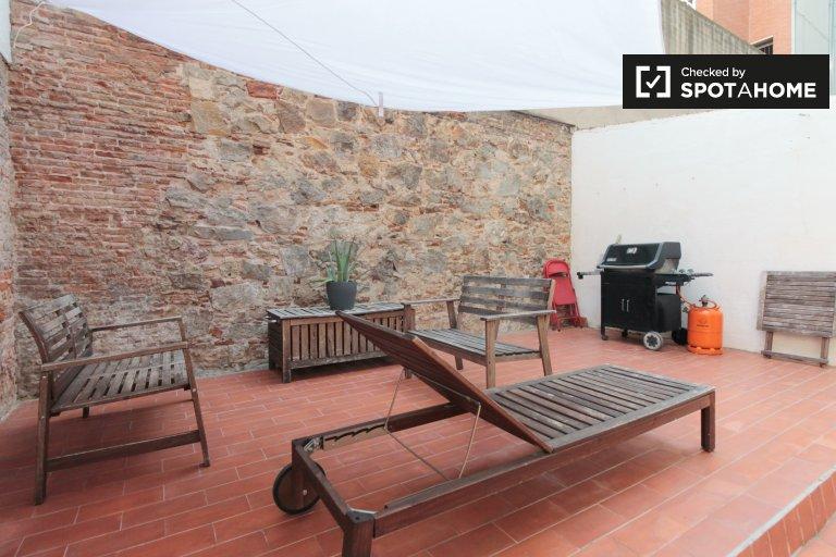 Apartamento de estúdio para alugar em Eixample, Barcelona