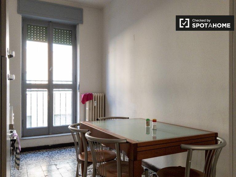 Apartamento de 1 quarto para alugar em Ponte Nuovo, Milão