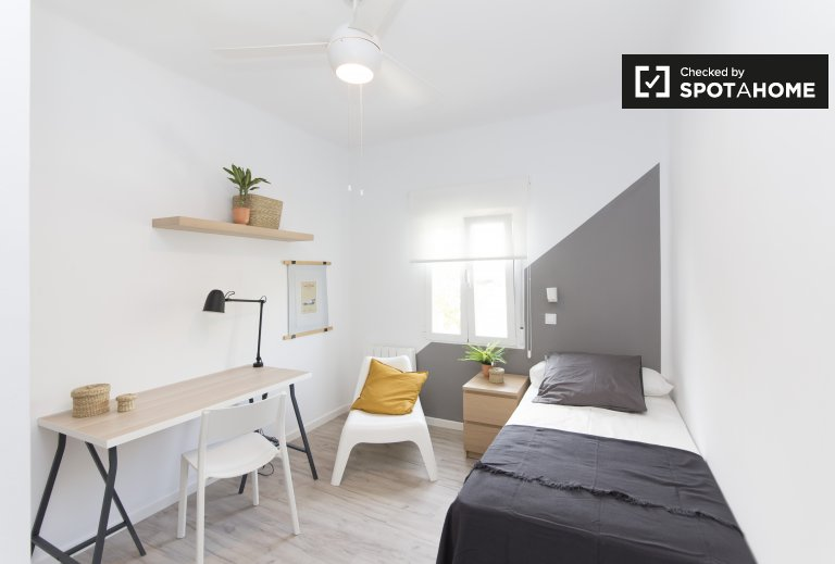 Room for rent in 2-bedroom apartment in Getafe, Madrid