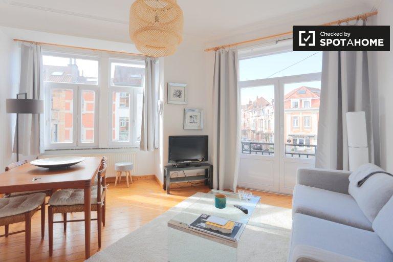 Apartamento de 1 dormitorio en alquiler, Woluwe Saint Lambert, Bruselas