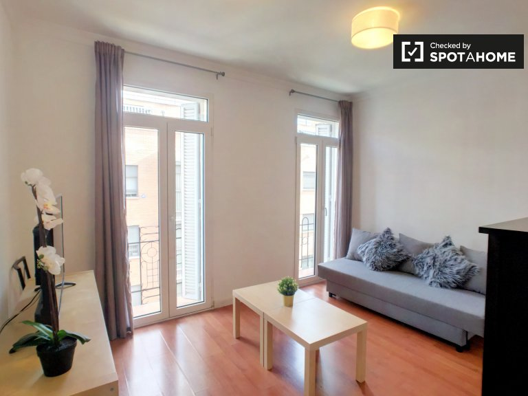 Bright 2-bedroom apartment for rent in Guindalera, Madrid