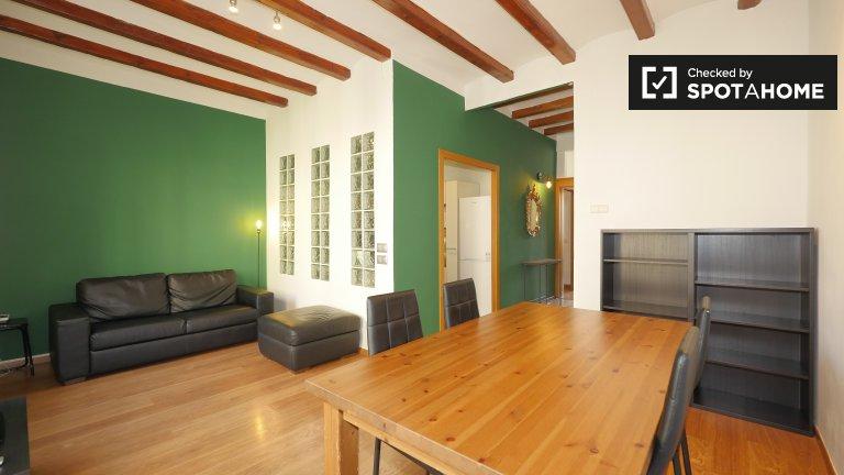 Funky apartamento de 2 dormitorios en alquiler en Poble Sec, Barcelona