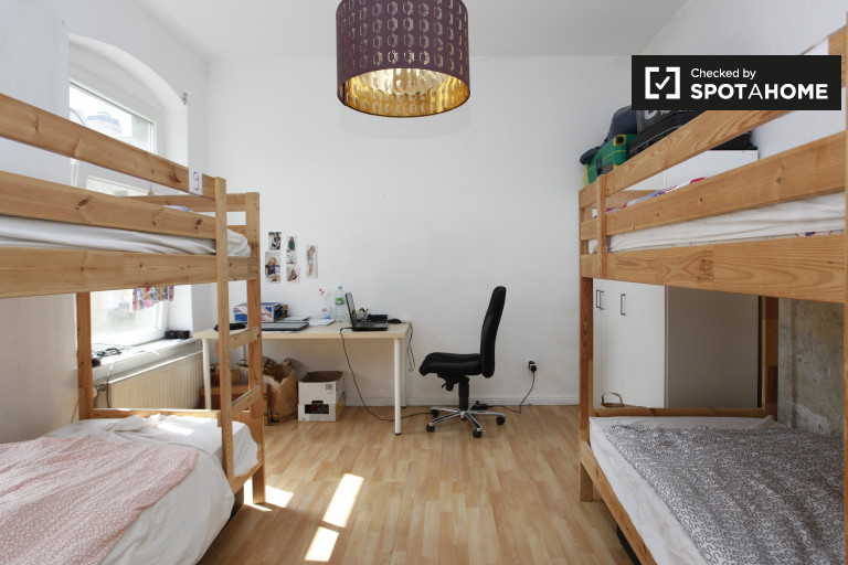 Equipped shared room in apartment in Treptow-Köpenick