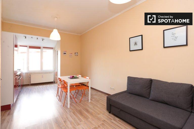 Chic appartement 1 chambre à louer à Jette, Bruxelles