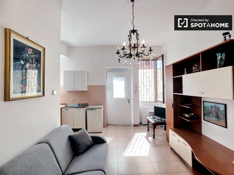 Apartamento de 1 quarto para alugar em Corsica, Milão