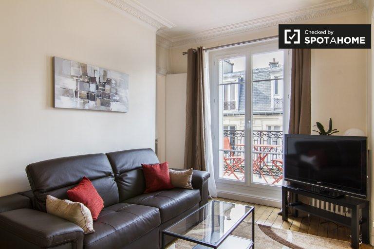 1-pokojowe mieszkanie do wynajęcia w Paryżu 18