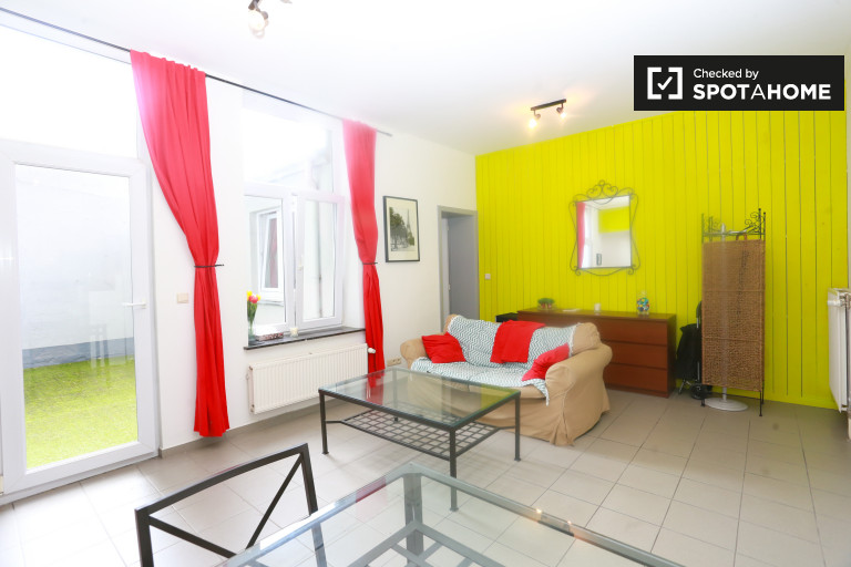Appartement lumineux 1 chambre à louer dans la région de l'UE, Bruxelles