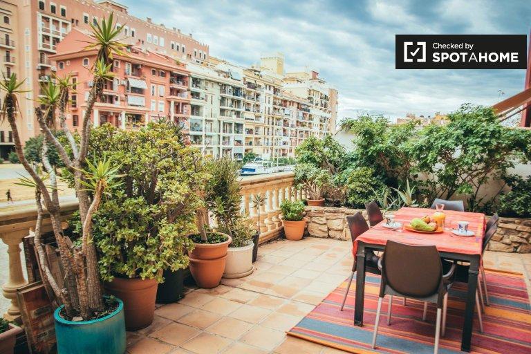 2-pokojowe mieszkanie do wynajęcia w Port Saplaya, Valencia