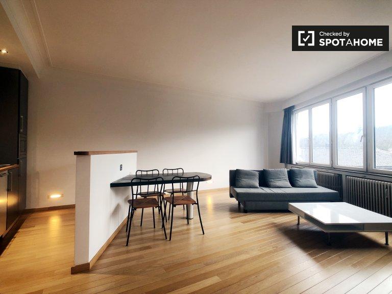1-pokojowe mieszkanie do wynajęcia w Uccle, Bruksela