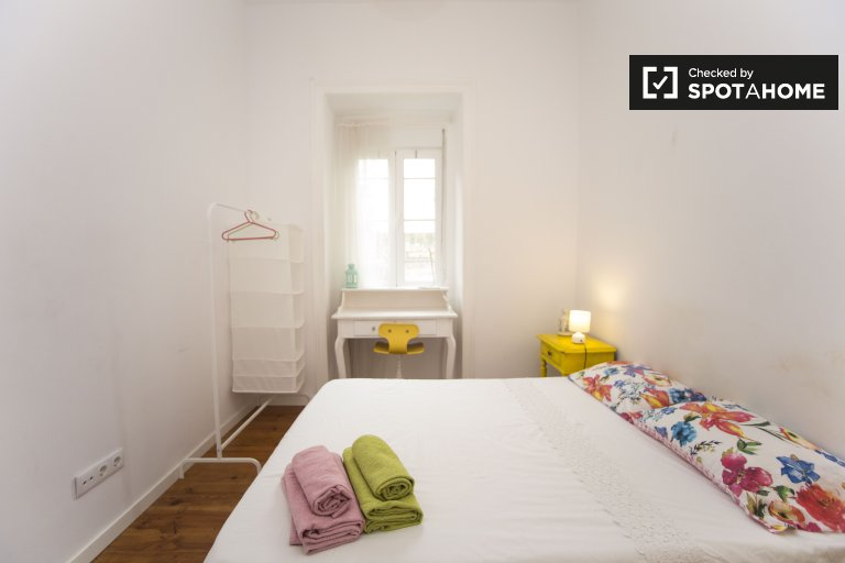 Uroczy pokój do wynajęcia w Penha de França, Lizbona