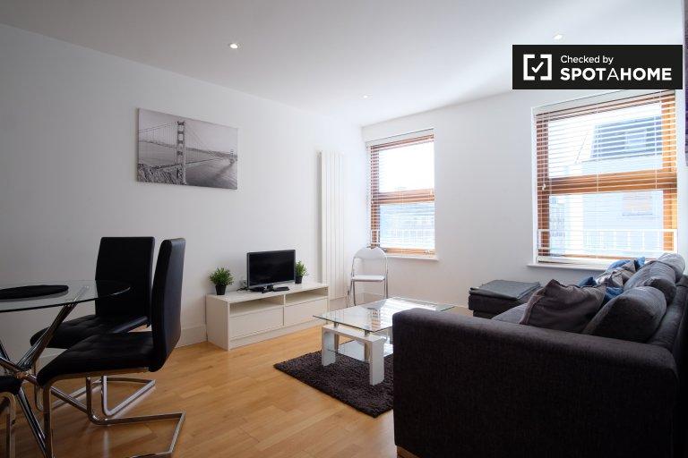 Stylowy 2-pokojowy apartament do wynajęcia w Camden w Londynie
