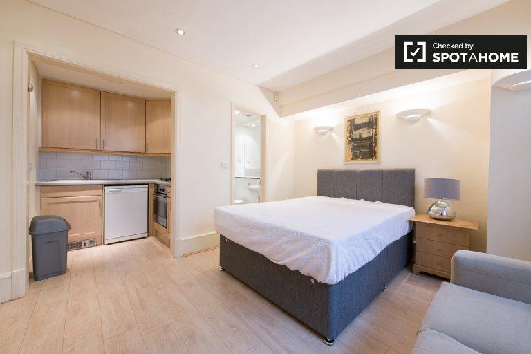 Elegant studio for rent in Kensington, London