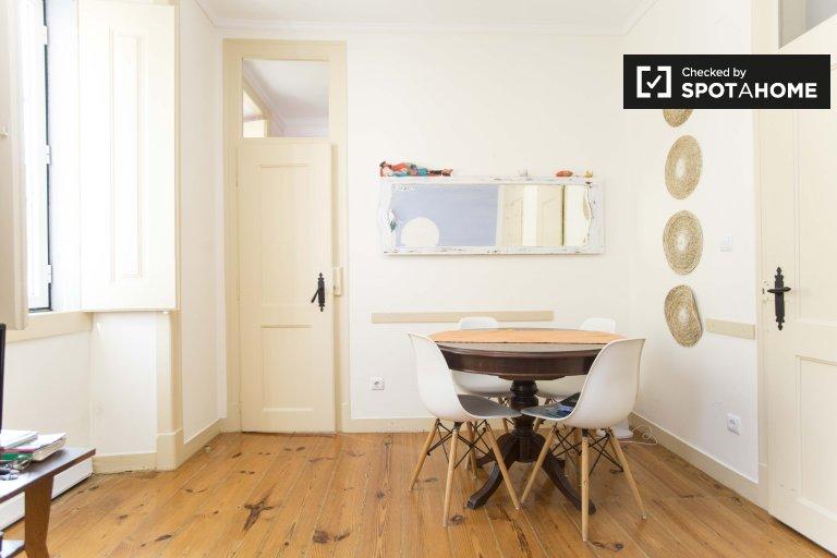 3 yatak odalı kiralık daire, Graça e São Vicente, Lizbon