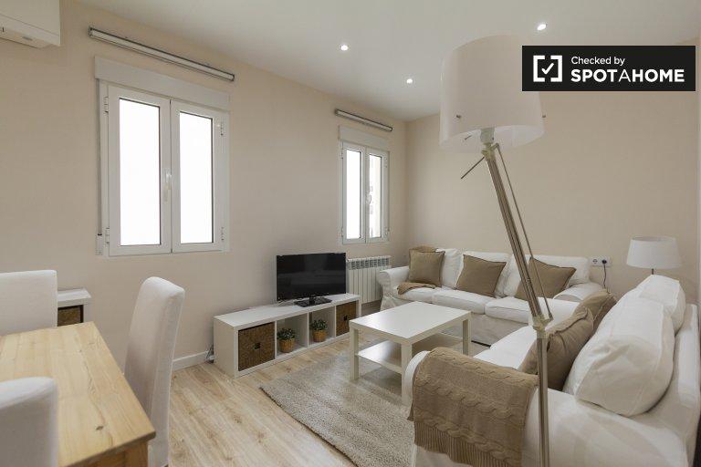 Fashionable 3-bedroom apartment in Salamanca, Madrid