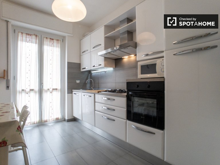 Simple apartment with 1 bedroom for rent in Bicocca, Milan